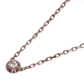 Cartier Reguede 18K Pink Gold Diamond Necklace