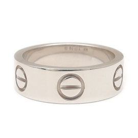 Cartier Love 18K White Gold Band Ring