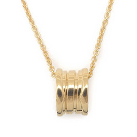Bulgari B-Zero1 18K Yellow Gold Pendant Necklace