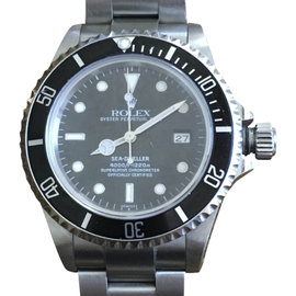 Rolex Oyster Perpetual Date Sea Dweller 4000 Stainless Steel 40mm Watch