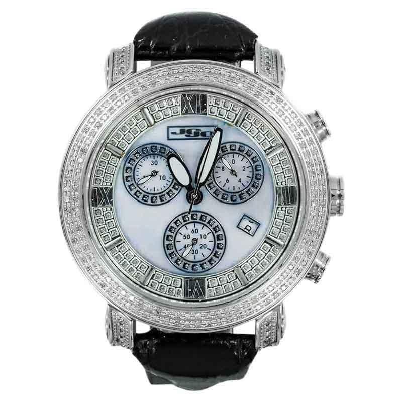 "Image of ""Joe Rodeo JoJo Jcl04969 1.75ct Diamonds Stainless Steel Unisex Watch"""
