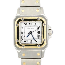 Cartier Santos 1567 Two Tone 27mm Watch