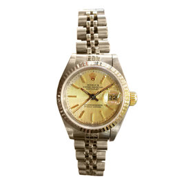 Rolex Oyster Perpetual Datejust 25mm Two Tone 18K Yellow Gold & Stainless Steel Watch