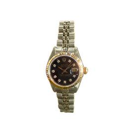 Rolex Datejust 18K Yellow Gold & Stainless Steel Watch