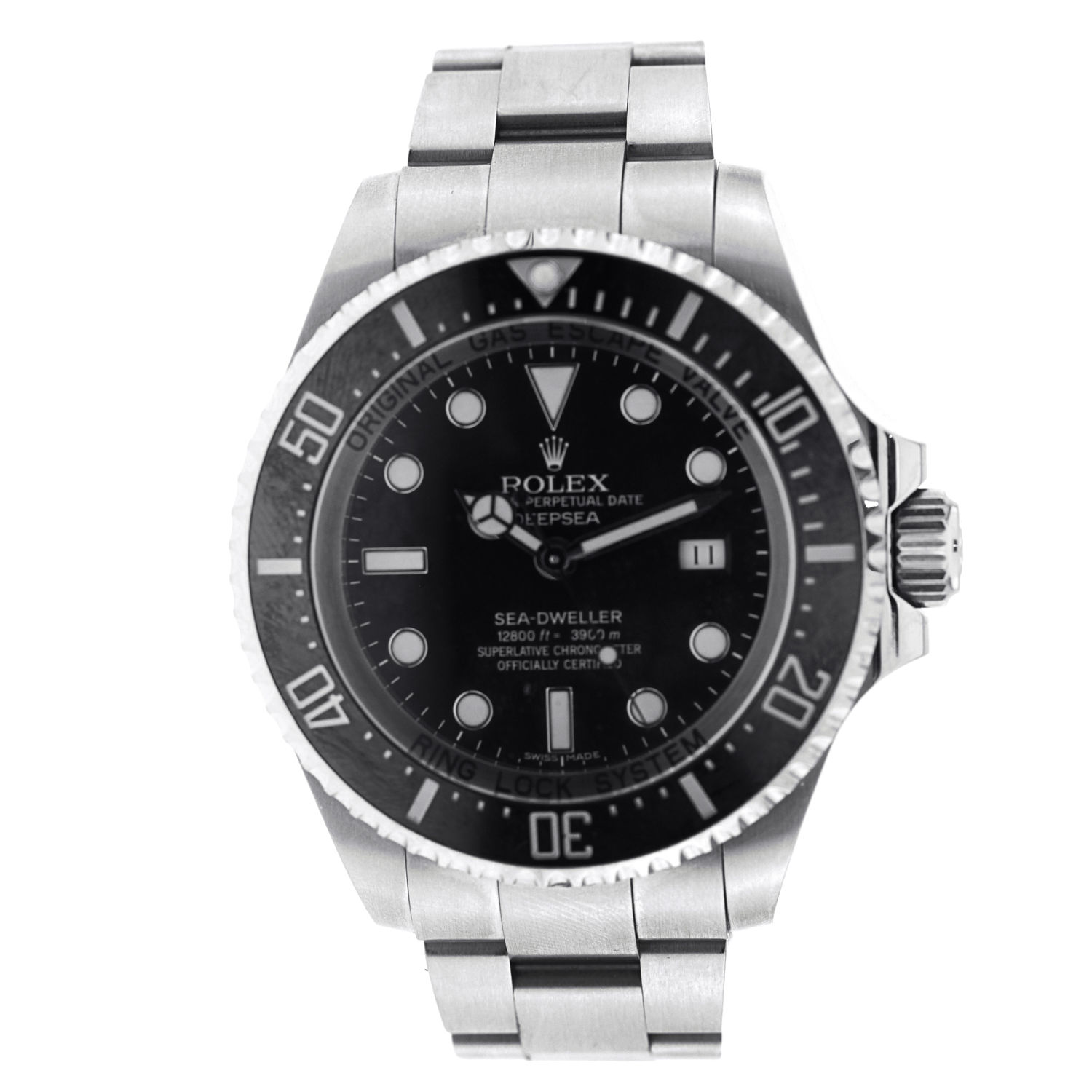 "Image of ""Rolex 116600 Sea Dweller Deep Sea Stainless Steel 44mm Watch"""