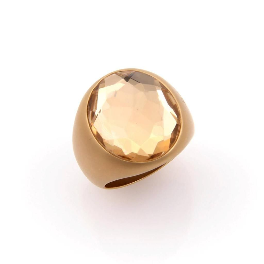 "Image of ""Pomellato Narciso 18K Yellow Gold Large Quartz Ring"""