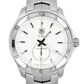 Tag Heuer Link WAT2111 Calibre 6 Date Automatic Stainless Steel Men's Watch