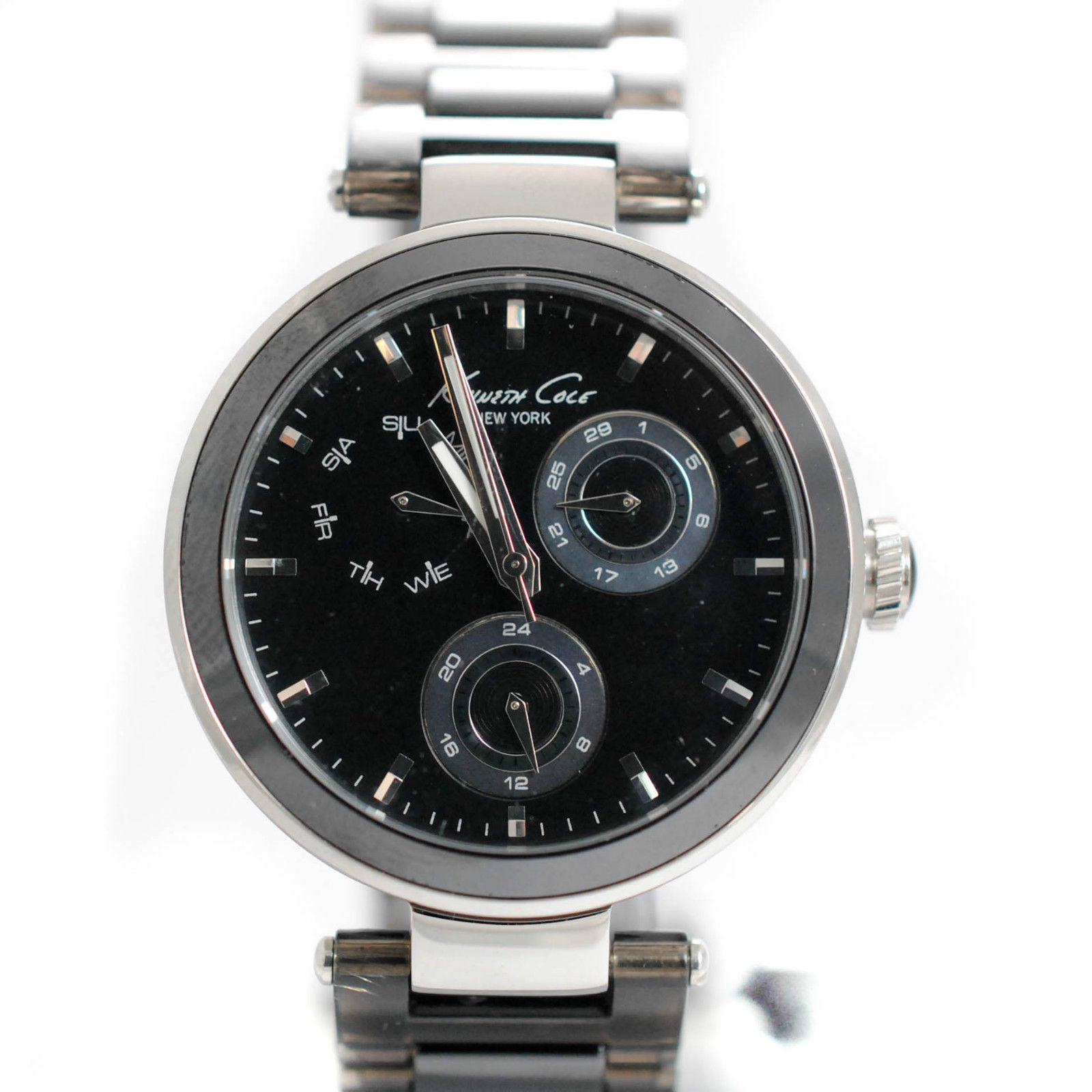 """Image of """"Kenneth Cole New York Women's Kc4729 Classic Round Multi-Function"""""""