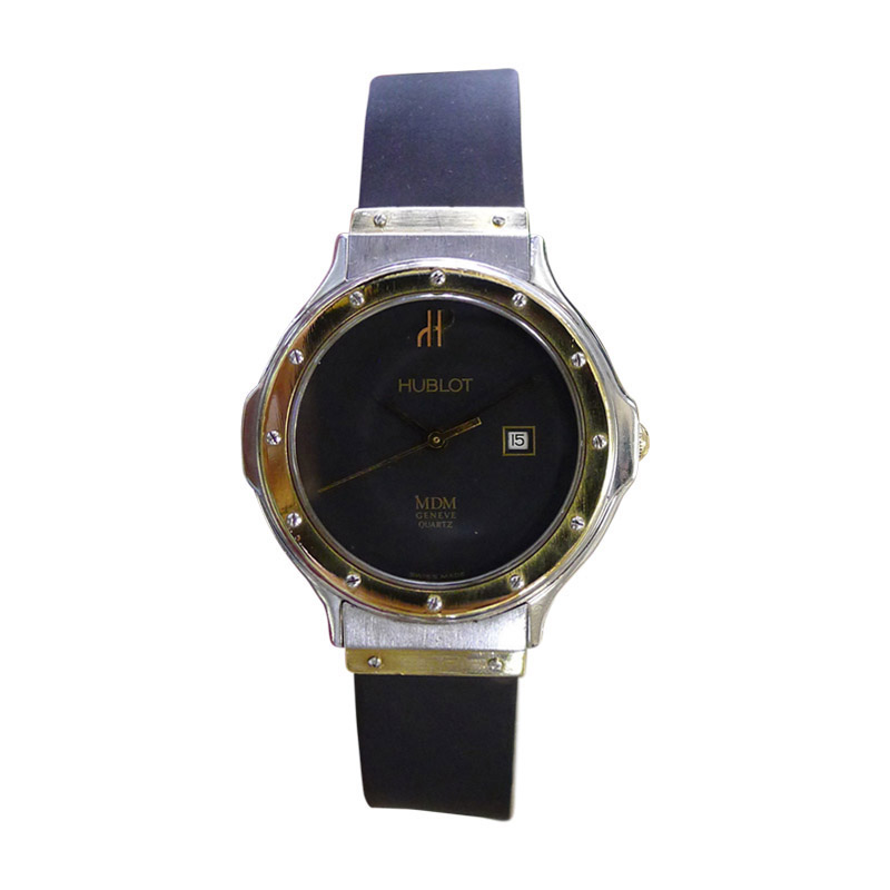 """Image of """"Hublot MDM Geneve Stainless Steel and 18k Yellow Gold 32mm Watch"""""""