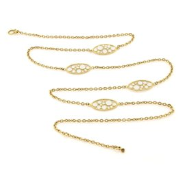 Roberto Coin 18K Yellow Gold Bollicine Enamel & Chain Necklace