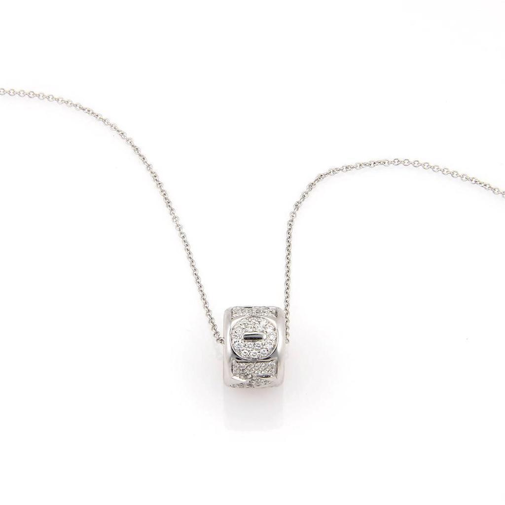 """""""""""Pasquale Bruni 18K White Gold & Diamond Amore Pendant Chain"""""""""""" 352399"""