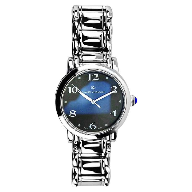"Image of ""David Yurman Stainless Steel & Sterling Silver 38mm Watch"""