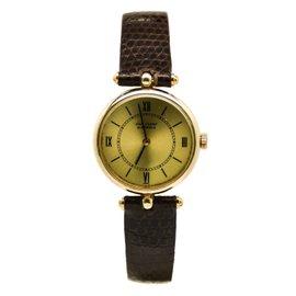 Van Cleef & Arpels Vintage 301600 14K Yellow Gold Hand Winding Women's Watch