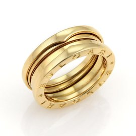 Bulgari 18K Yellow Gold Band Ring Size Medium