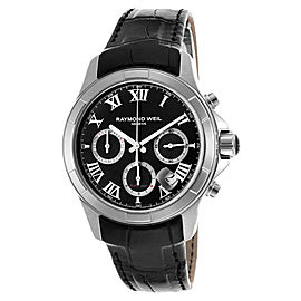 Raymond Weil 7260-STC-00208 Parsifal Stainless Steel Chronograph Mens Watch