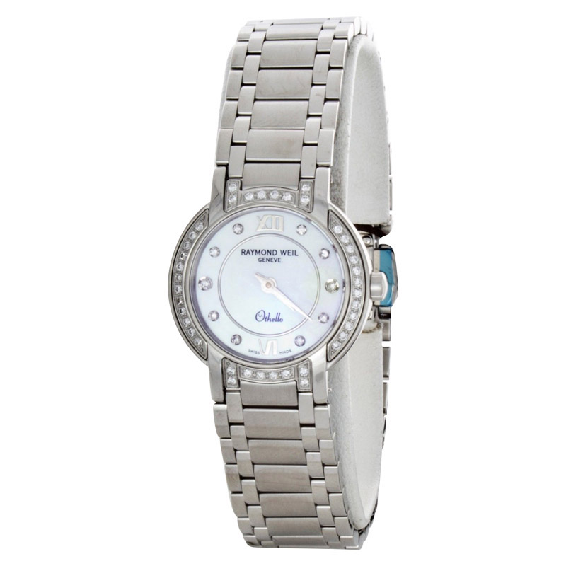 "Image of ""Raymond Weil 2321-Sts-00985 Othello Stainless Steel Mother Of Pearl"""