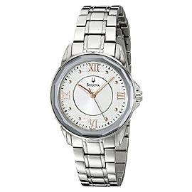 Bulova 96L172 Dress Round Bracelet Womens Watch