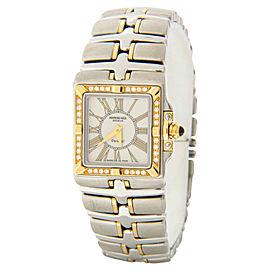 Raymond Weil 9790-DB Parsifal Diamond Accented Two-tone Quartz Watch