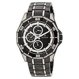 Bulova 98C111 Crystal Multi-Function Mens Watch