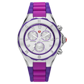 Michele MWW12F000070 Tahitian Jelly Bean Purple Watch