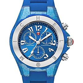 Michele MWW12F000074 Tahitian Jelly Bean Blue Watch