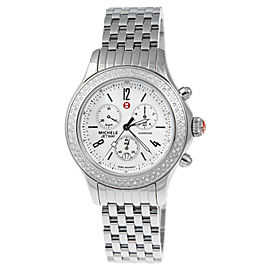 Michele MWW17A000001 Quartz Diamond Stainless Steel Watch
