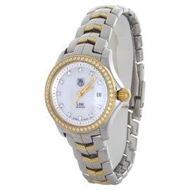 Tag Heuer WJF1354.BB0581 Link MOP Diamond Dial Stainless Steel Watch