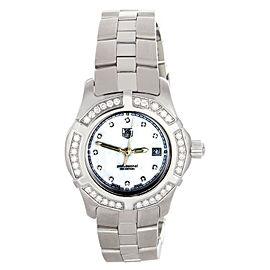Tag Heuer WN131J Professional MOP Diamond Dial Stainlees Steel Watch