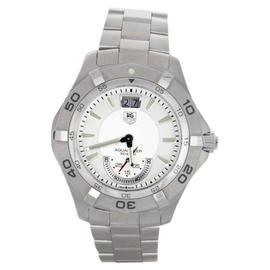 Tag Heuer WAF1011 Aquaracer 300M White Dial Swiss Quartz Date Watch