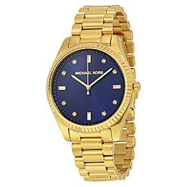 Michael Kors MK3240 Blake Blue Dial Gold Tone Stainless Women's Watch