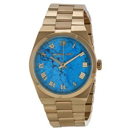 Michael Kors MK5894 Channing Turquoise Dial Gold Tone Women's Watch