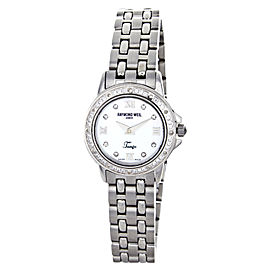 Raymond Weil 5860-ST-00915 Mother of Pearl Dial Stainless Steel Womens Watch