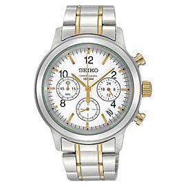 Seiko 6T63-00A0 2T Chronograph Date Display Bracelet Mens Watch