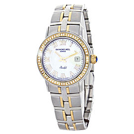 Raymond Weil 9440-STS-97081 Parsifal Two-Tone Mother of Pearl Dial Womens Watch