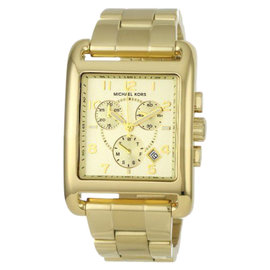 Michael Kors MK5436 Chronograph Gold-Tone Stainless Steel Bracelet Women's Watch