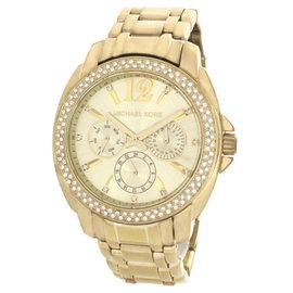Michael Kors MK5691 Gold Tone Dial Stainless Steel Bracelet Women's Watch