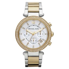Michael Kors Parker MK5626 Chronograph Two-Tone Stainless Steel Womens Watch