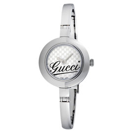 Gucci 105 YA105528 Stainless Steel Quartz Womens Watch