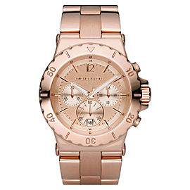 Michael Kors MK5314 Quartz Rose Gold Round Dial Rosegold Band Womens Watch
