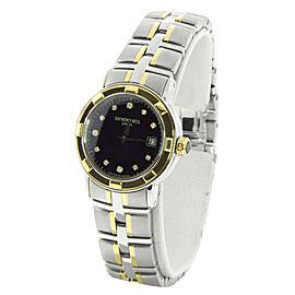 Raymond Weil 9691/1 Parsifal Black Diamond Dial Two-Tone Womens Watch