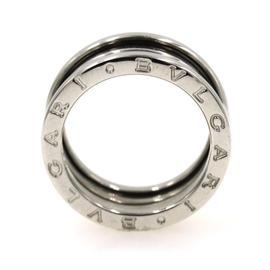 Bulgari B-Zero 1 18K White Gold Band Ring Size Large