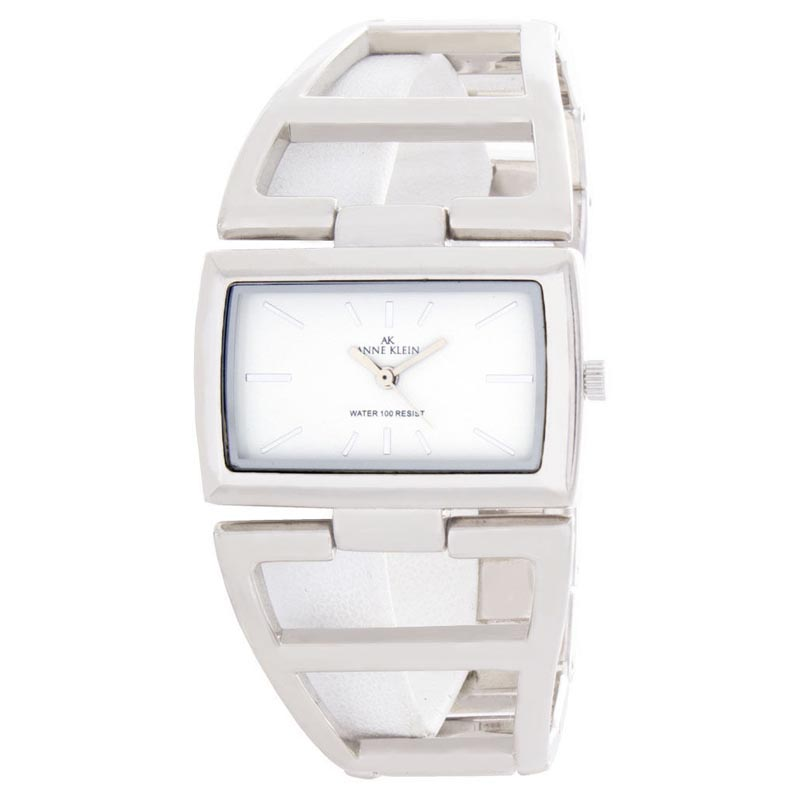 "Image of ""Anne Klein 10/7991 White Dial Metal Bracelet Womens Watch"""