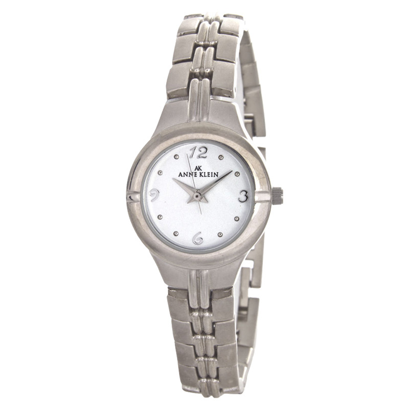"Image of ""Anne Klein 10/8089 Silver-Tone Metal 25mm Watch"""