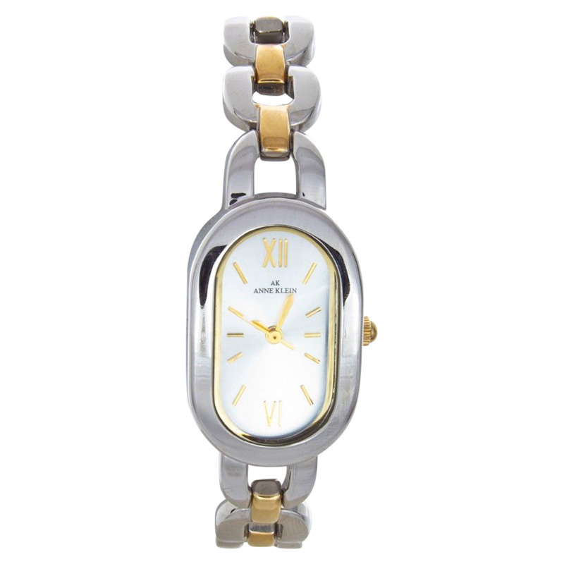 "Image of ""Anne Klein 10/1385 Silver Dial Stainless Steel Silver Tone Womens"""