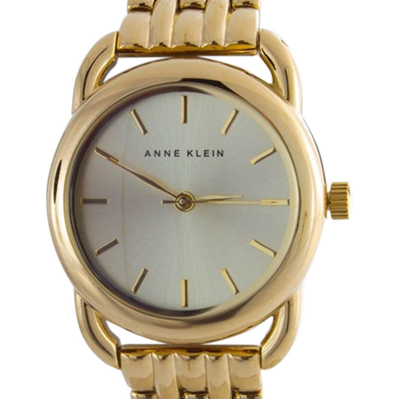 "Image of ""Anne Klein Ak/1364Chgb Stainless Steel Gold tone Dial Bracelet Womens"""