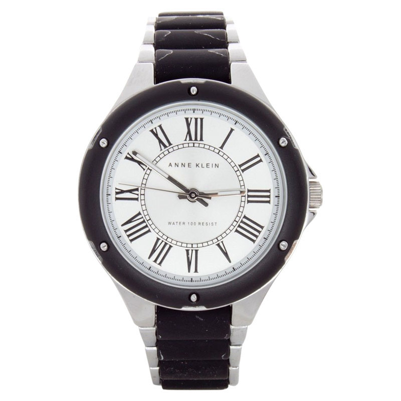 "Image of ""Anne Klein Ak/1319Svbk Stainless Steel 37mm Watch"""