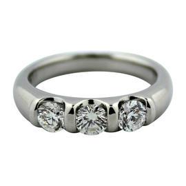 Scott Kay Platinum 0.75Ct Diamond Wedding Ring Sz 5.5