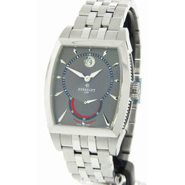 Perrelet A1017/B Power Reserve Stainless Steel Automatic Mens Watch