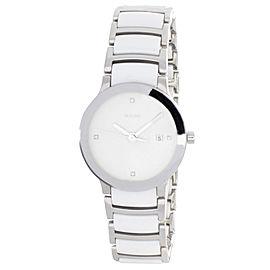 Rado 111.0928.3 White Dial Stainless Steel & White Ceramic Bracelet Womens Watch