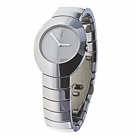 Rado Ovation 121.0497.3 High-Tech Ceramics Silver Dial Quartz Womens Watch